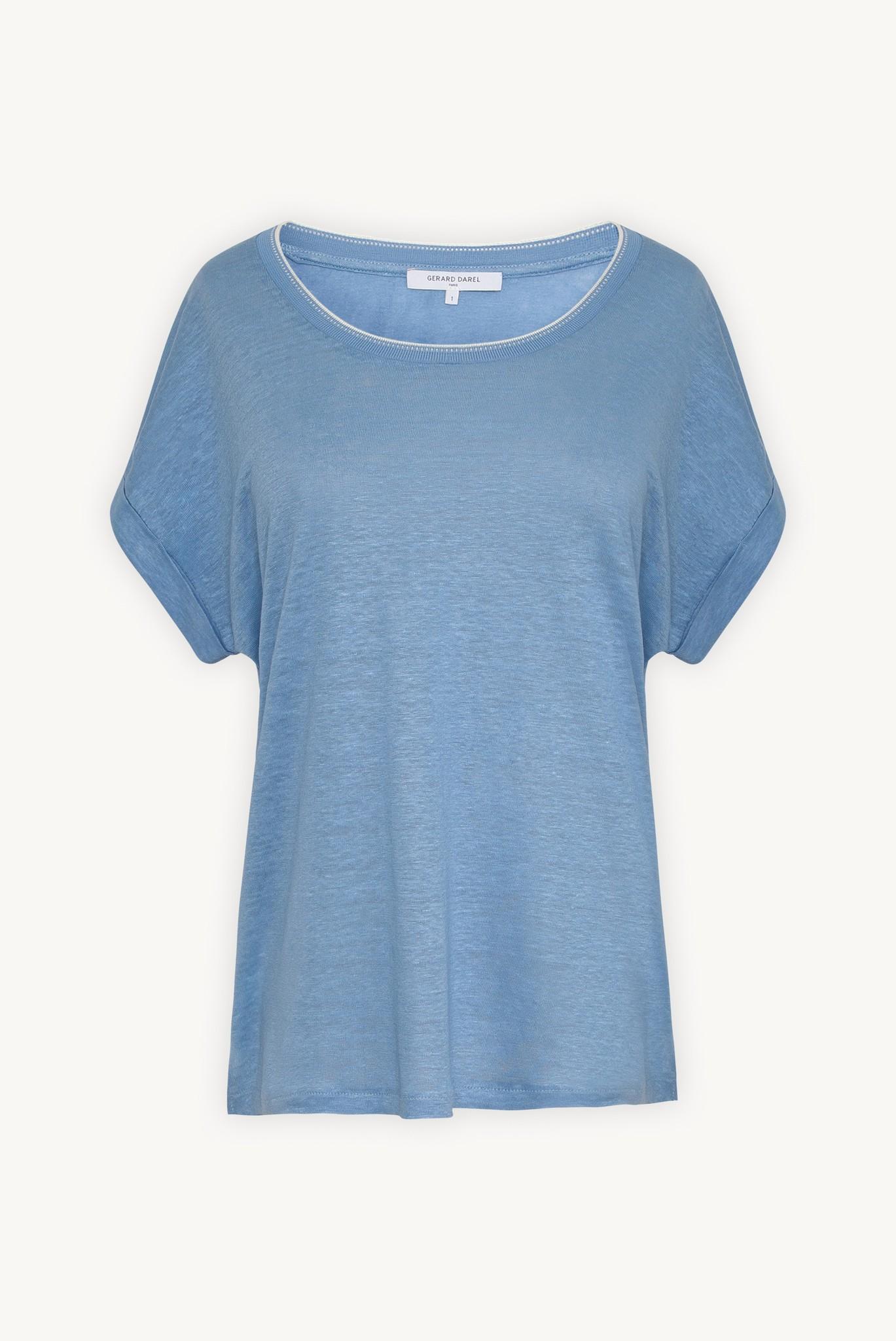 JEMMA - льняная футболка oversize