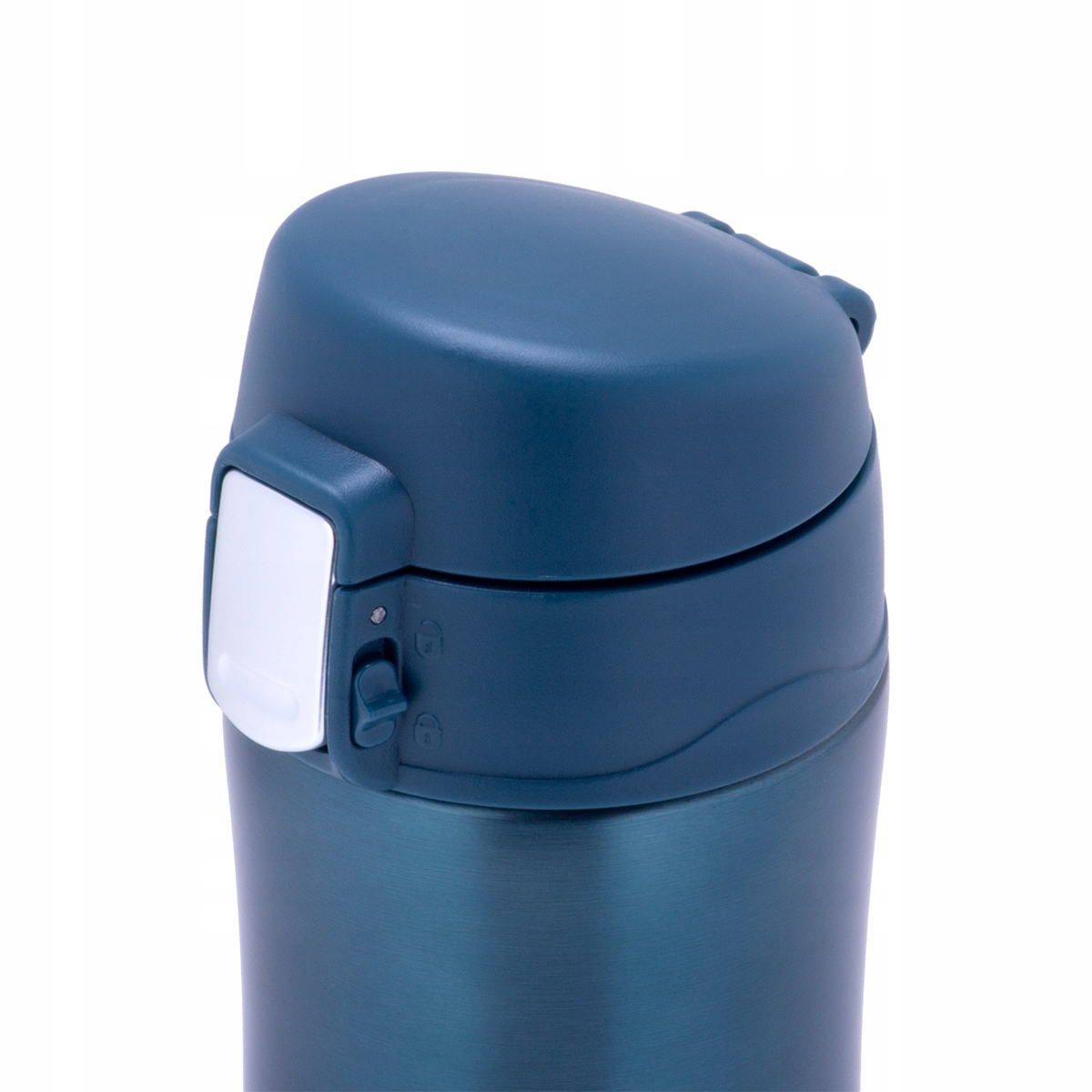 Термос-кружка Kamille 320 мл голубой