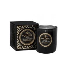 Ароматическая свеча Voluspa Искрящееся шампанское в подарочной коробке
