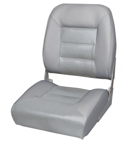 Кресло Premium High Back Boat Seat - серый