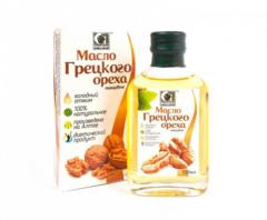 Масло грецкого ореха нерафинированное пищевое «Сибирское» 100 мл
