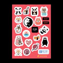 Набор стикеров Tumblr Japan