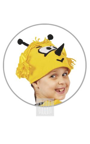 Фото Пчела ( головной убор из флиса ) рисунок Костюмы насекомых для детей: для досугов и познавательных занятий, для спектаклей и утренников!