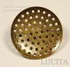 Основа для броши с диском 27 мм (цвет - античная бронза)