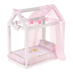DeCuevas Кроватка для куклы с аксессуарами серии