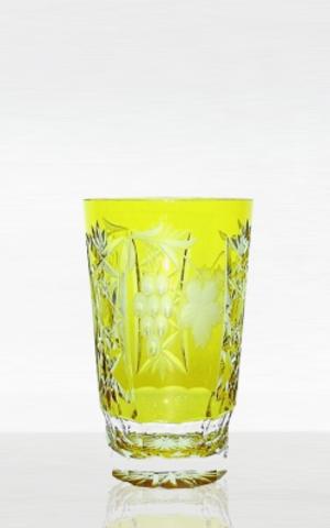 Стакан 390мл Ajka Crystal Grape янтарный