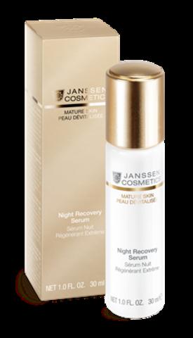 Anti-age ночная восстанавливающая сыворотка с комплексом Cellular Regeneration, Janssen Night Recovery Serum,30 мл