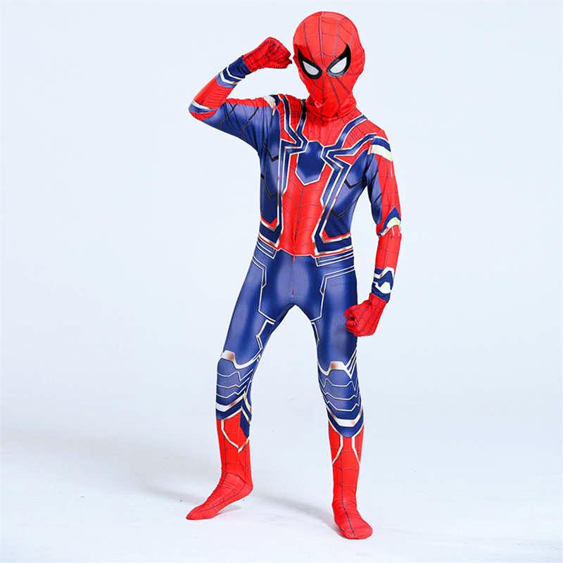 Человек паук детский костюм Железного Паука