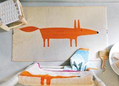 Коврик для ванной 50х90 Blanc des Vosges Mr Fox Sable