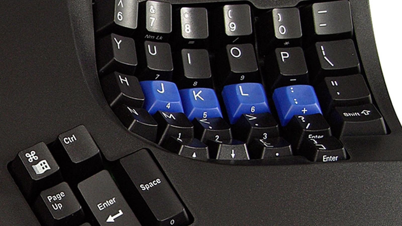 Kinesis Advantage — клавиши