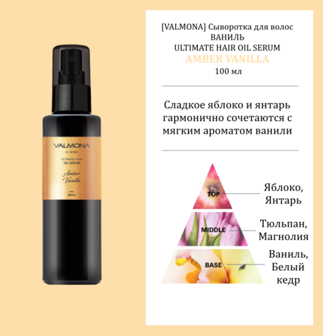 Сыворотка для волос на основе 18 натуральных масел 100мл Valmona Ultimate Hair Oil Serum