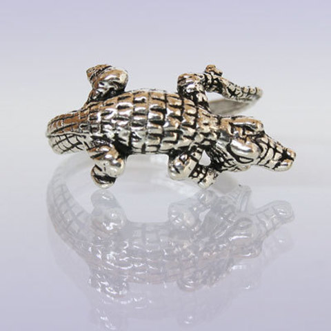 Кольцо Крокодильчик
