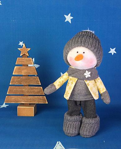 Іграшка сніговик Майк