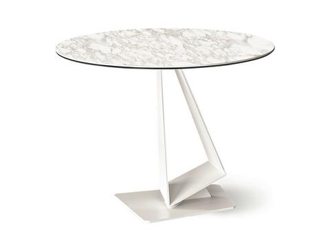 replica table  CATTELAN ROGER KERAMIK   ( by Steel Arts)