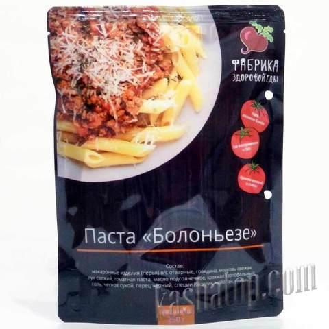 Паста 'Болоньезе' 'Фабрика здоровой еды', 250г