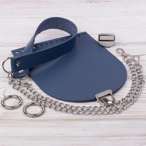 """Комплект для сумочки Орео """"Синий"""" N2"""