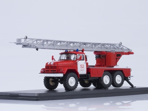 ZIL-131 AL-30 fire engine Vyborg Start Scale Models (SSM) 1:43