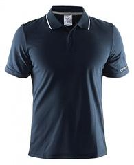 Мужская футболка поло Craft In the Zone 1902643-3395 темно-синяя