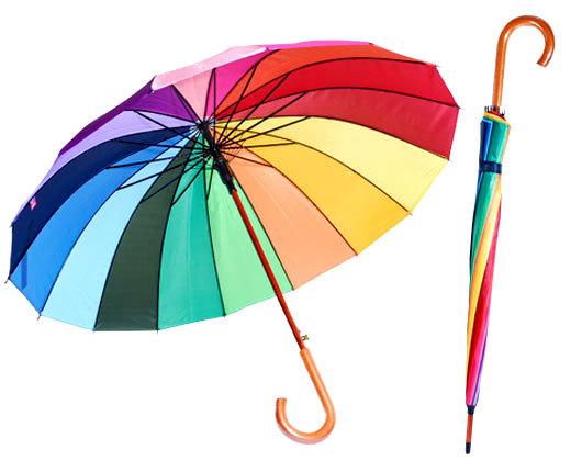 Зонт очень прочен и не боится ветра
