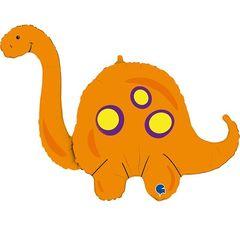Г Динозавр Оранжевый Бронтозавр, 44