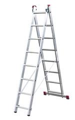 Двухсекционная универсальная лестница CORDA 2х8