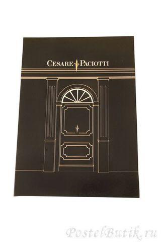 Постельное белье семейное Cesare Paciotti Pave коричневое