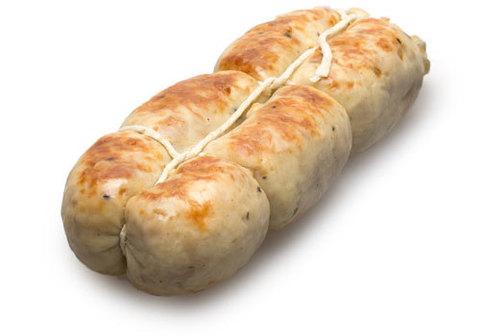 Колбаса куриная фермерская копченая~300г