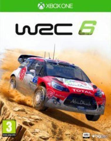 Xbox One WRC 6 (английская версия)