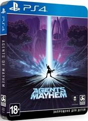 Sony PS4 Agents of Mayhem STEELBOOK EDITION (русские субтитры)