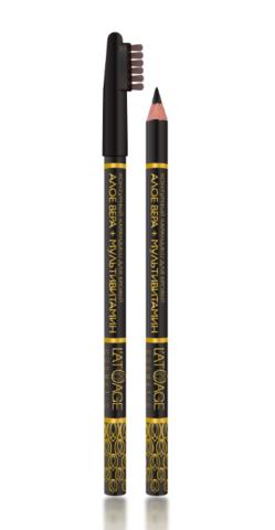 l`atuage Контурный карандаш для бровей  №03 (чёрный)