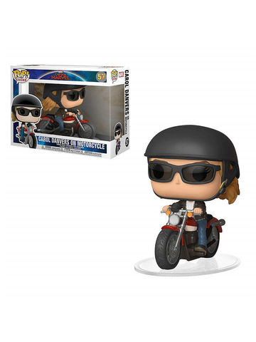 Фигурка Funko POP! Rides: Marvel: Captain Marvel: Carol Danvers on Motorcycle 36418