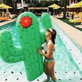 Матрас надувной для плавания Cactus 170 х 150 см зеленый кактус BigMouth BMPF-CT | Купить в Москве, СПб и с доставкой по всей России | Интернет магазин www.Kitchen-Devices.ru