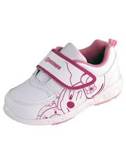 Кроссовки для девочки антилопа, цвет белый