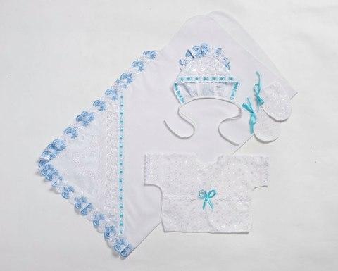 Sdobina. Комплект на выписку для новорожденного 4 предмета