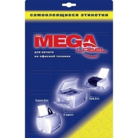 Этикетки самоклеящиеся ProMEGA Label глянцевые105х57мм/10шт.на лисА4 25лист