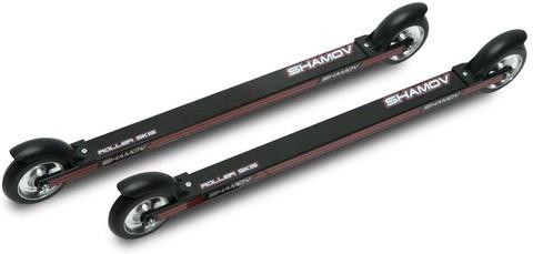 Лыжероллеры коньковые Shamov 04-1 тип Marwe, каучук, диаметр 100мм