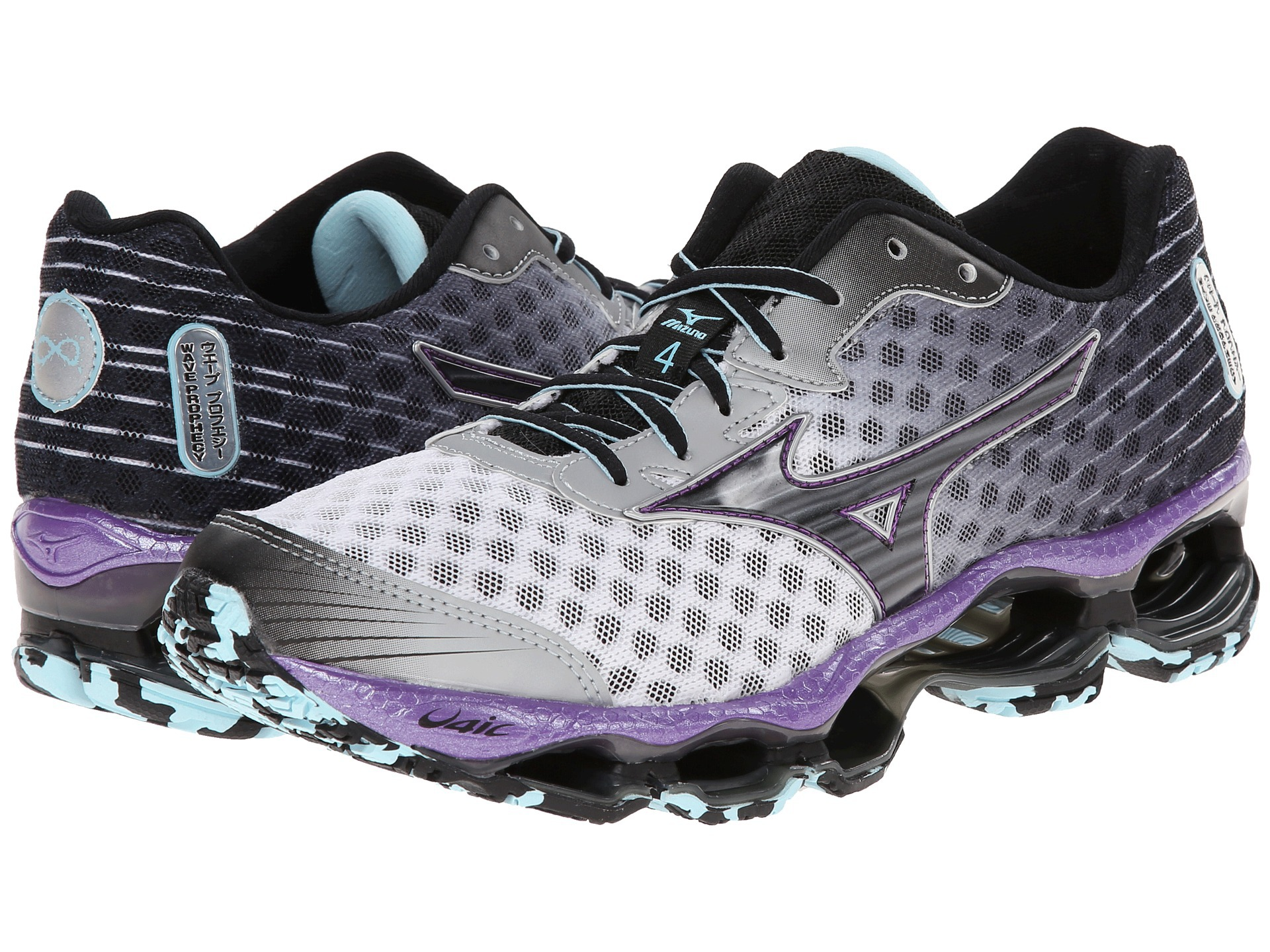 Mizuno Wave Prophecy 4 женская беговая обувь (J1GD1500 09) фото