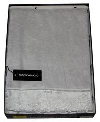 Набор полотенец 2 шт RoccoBarocco Atmosphere серый