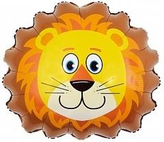 Шар (29''/74 см) Фигура, Большая голова Льва, 1 шт.