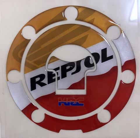 Наклейка на лючок бака Honda Repsol