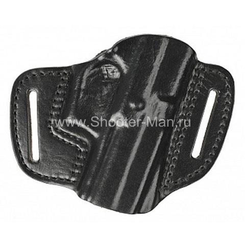 Кобура кожаная для пистолета Гроза - 04 поясная ( модель № 11 )
