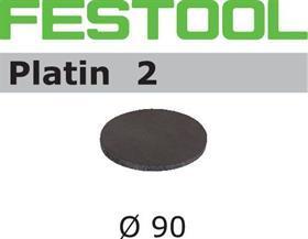 Шлифовальные круги STF D 90/0 PL2/15 Platin Festool