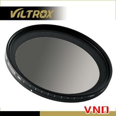 Нейтрально-серый фильтр Viltrox VND-52 ND2-ND400 на 52mm