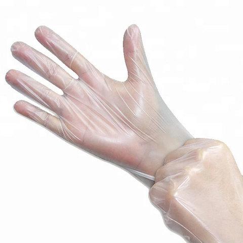 Перчатки ТПЭ (термопластоэластомер) одноразовые (100 шт/уп)
