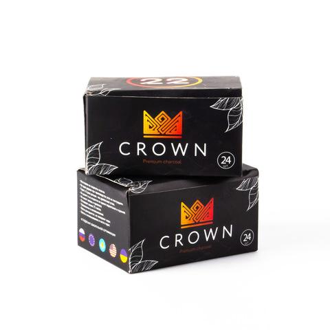 Уголь Crown 24шт