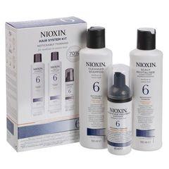 NIOXIN набор (система 6) 150мл+150мл.+40мл.