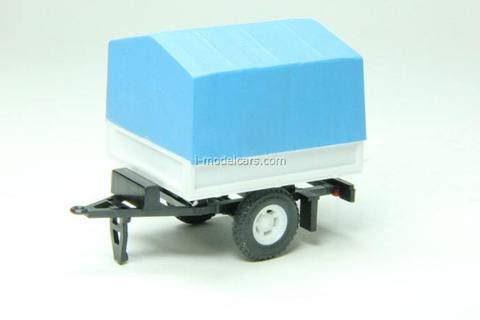 Trailer Bison (awning) Agat Mossar Tantal 1:43