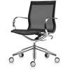 Офисное кресло Mercury LB, черная сетка/алюминий