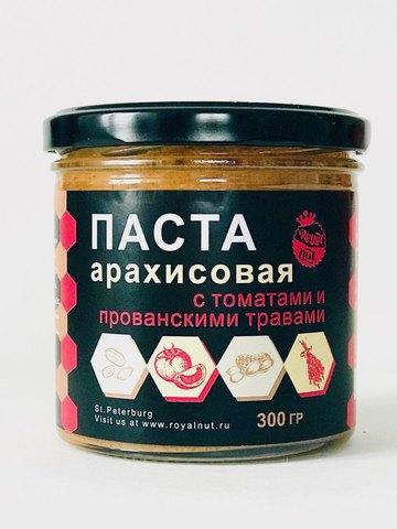 Арахисовая паста с томатами и прованскими травами, 300 г