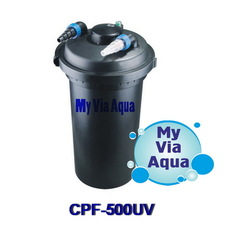 Напорный фильтр для пруда SunSun CPF-500UV